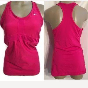 Nike Pink Sport Athletic Tank Top 1X